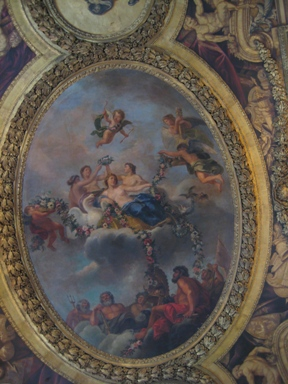 Venus room at Versailles