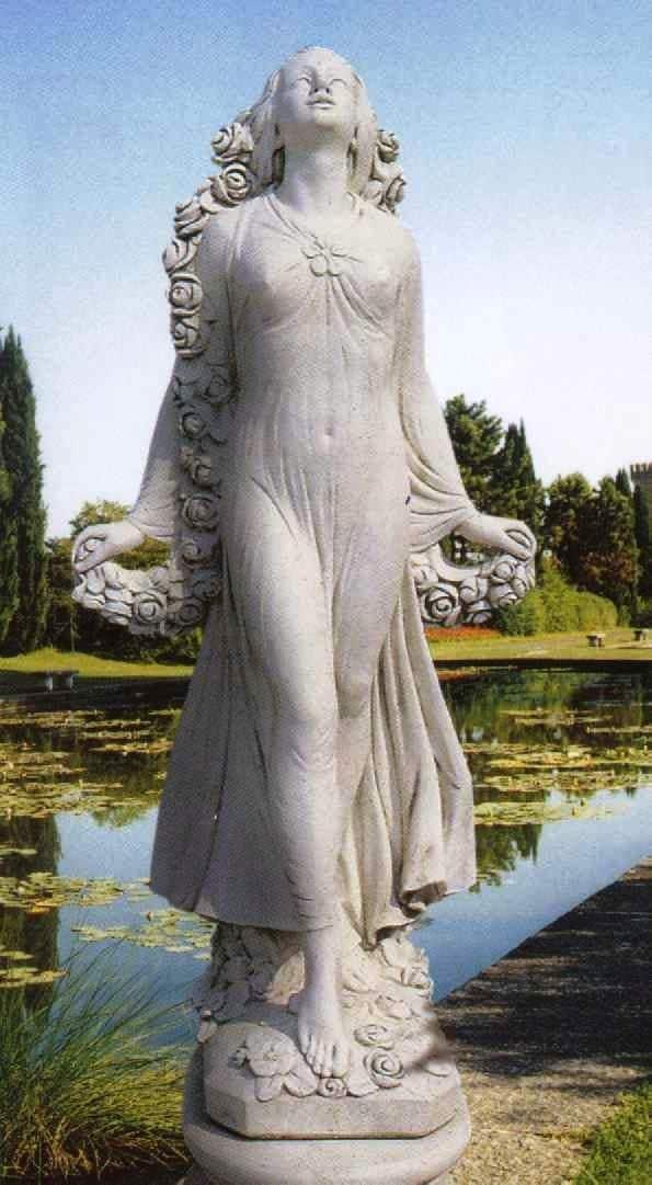 Goddess Flora Garden Statue IT L514 (595×1081) | Beautiful Churchs |  Pinterest | Italian Marble, Flora And Goddesses