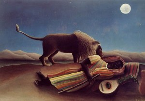 Rousseau Sleeping Gypsy